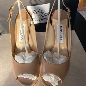 Jimmy Choo Slingback shoes patent leather
